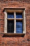 Window of a medieval building Royalty Free Stock Photo
