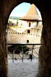Window in the Medieval fortress in Soroca,  Moldova. Window in the Medieval fortress in Soroca, Republic of Moldova Stock Photo