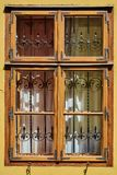 Window of Medieval House Royalty Free Stock Photos