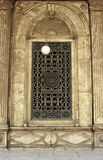 Window of Mohamed Ali mosque Stock Images