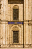 Window at Mohamed Ali Mosque, The Saladin Citadel of Cairo ,Egyp Royalty Free Stock Images