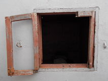 Window in morocco casablanca africa Royalty Free Stock Image