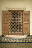 Window with mosaic design Royalty Free Stock Images