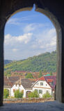 Window on Mosna, Transylvania, Romania Stock Photography