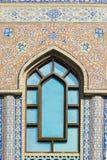 Oriental Mosaic on Window Royalty Free Stock Photo
