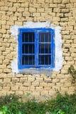 Window in mud wall Stock Image