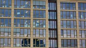 Window of the multi-storey building Royalty Free Stock Photos