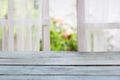 Window with nature background Royalty Free Stock Images