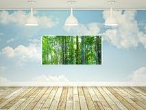 Window on nature Stock Photography