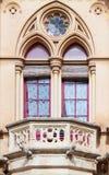 Window of  Neogothic house Stock Image