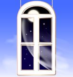 Window in the night Stock Photography
