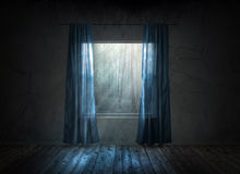 Window at night Royalty Free Stock Photos