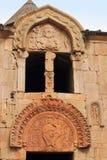The window in Noravank monastery Royalty Free Stock Photo