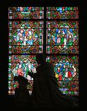Window of Notre Dame Royalty Free Stock Photography