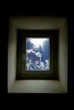 Window in nowhere Stock Photo