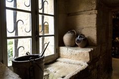 Free Window Of The Old Strong House Of Reignac Stock Images - 159770114
