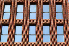 Window of office and apartment building Stock Photography