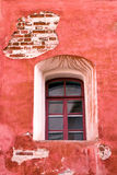 Window of old 19th century building Royalty Free Stock Photo
