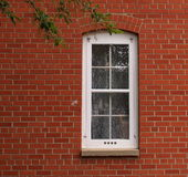Window In Old Brick Building Royalty Free Stock Images