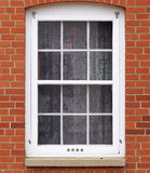 Window In Old Brick Building Stock Images