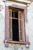 Window of Old Building Stock Photography