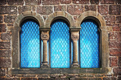 Window of old castle Royalty Free Stock Images