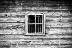 Window in old cottage Royalty Free Stock Image