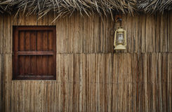 Window of an old Emirati house. Stock Photo