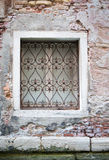 Window in old-fasioned house Stock Photo