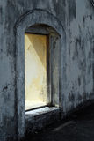 Window in old fort Royalty Free Stock Image