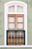 Window of the old house Stock Photography