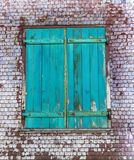 Window of an old house Stock Photography