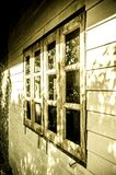 Window on the old house Royalty Free Stock Image
