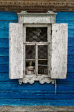 Window of the old house Stock Images