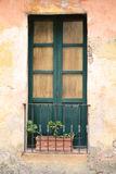 Window of an old house. Stock Photos