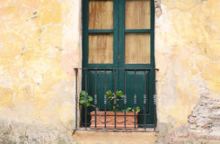 Window of an old house. Royalty Free Stock Photography