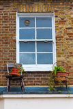 Window at an old house in London Stock Photo
