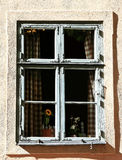 Window in old house, Stockholm - Sweden - Scandinavia. Image assembled from few frames Royalty Free Stock Photo