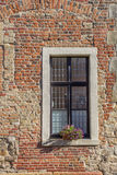 Window of an old house in Steinfurt Royalty Free Stock Photos