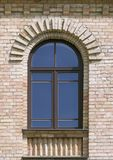 Window of an old house. In Vilnius, Lithuania Royalty Free Stock Photography