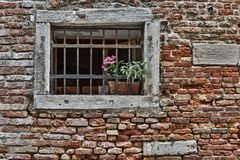Window in an old house Royalty Free Stock Image