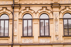 Window , old house, winter Royalty Free Stock Photos