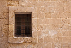 Window with old lattice Royalty Free Stock Photo