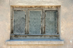 Window of Old ruin house Stock Photography