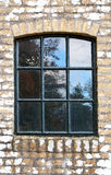 Window of an old shed Stock Image
