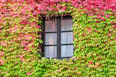 Window in an old traditional European country house Royalty Free Stock Photography