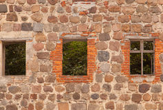 A window in an old wall Royalty Free Stock Photography