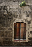 Window On Old Wall Royalty Free Stock Photography