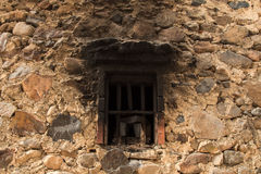 Window. Old wall with a sooting window Stock Image