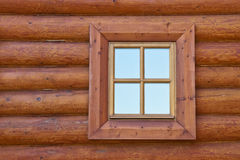 Window of old wooden house Stock Image